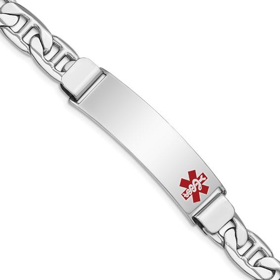 8in Medical ID Anchor Link Bracelet