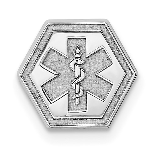 Petite Medical Charm 5/16in - Sterling Silver