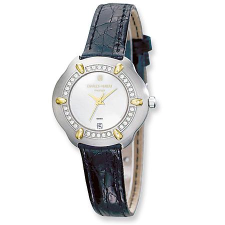 Ladies Charles Hubert Watch No. 18302D-L/W