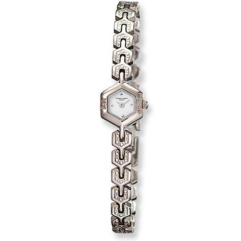 Ladies Charles Hubert Titanium Off White Dial Watch No. 6739-W