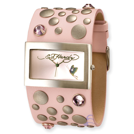 Ed Hardy Love Child Watch - Pink
