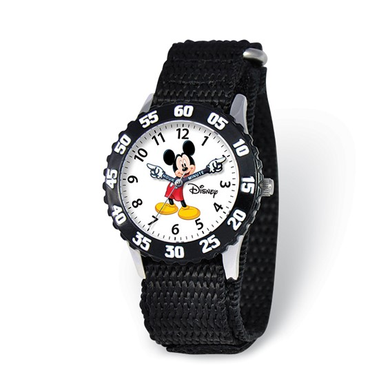 Disney Kids Mickey Mouse Time Teacher Watch White Dial