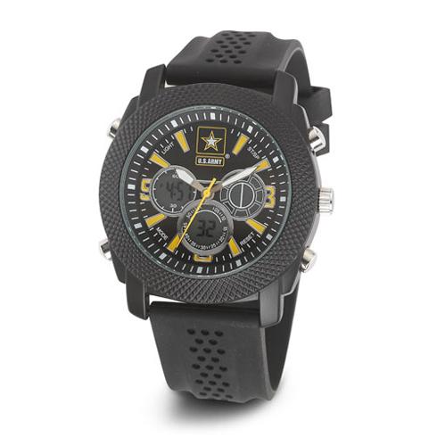 Wrist Armor US Army C21 Digital Chronograph Watch Black Yellow Dial