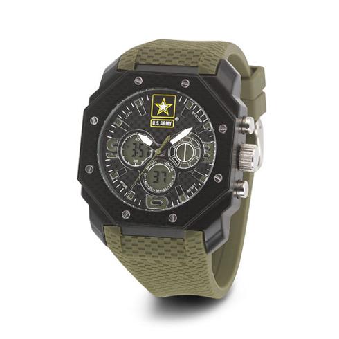 Wrist Armor US Army C28 Green Digital Chronograph Watch