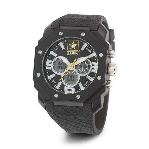 Wrist Armor US Army C28 Digital Chronograph Watch with Black Dial