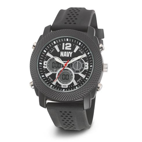 Wrist Armor US Navy C21 Digital Chronograph Watch Black Dial