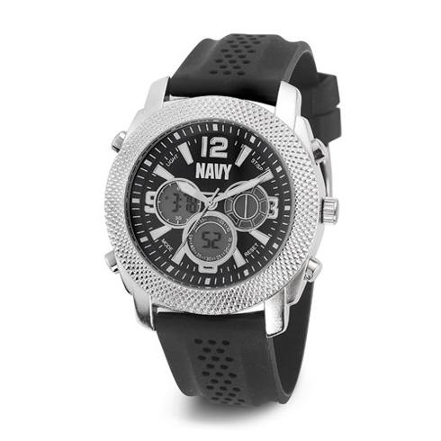 Wrist Armor US Navy C21 Digital Chronograph Watch Dark Blue Dial