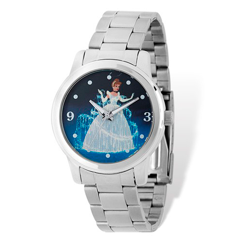 Cinderella Stainless Steel Silver Dial Watch