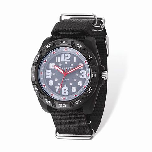 Wrist Armor US Army C42 Quartz Gray Dial Watch with Nylon Strap