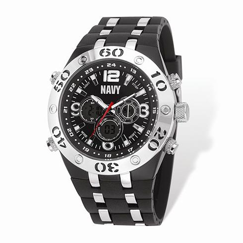 Wrist Armor US Navy C23 Digital Chronograph Watch Black Dial