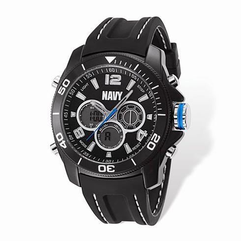 Wrist Armor US Navy C29 Digital Chronograph Watch Black Dial