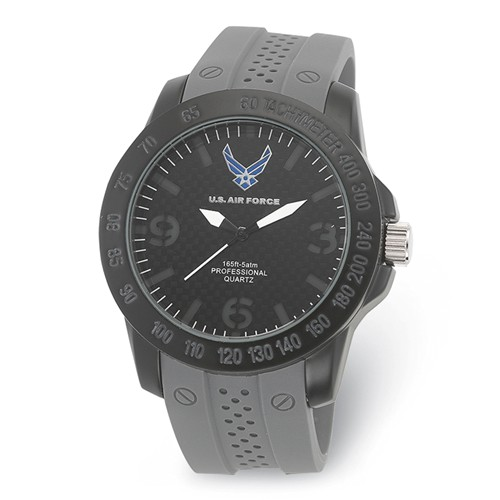 Wrist Armor US Air Force C26 Quartz Watch with Gray Silicone Strap
