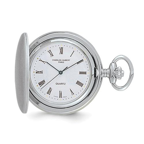 Charles Hubert Pocket Watch with Roman Numerals #3559
