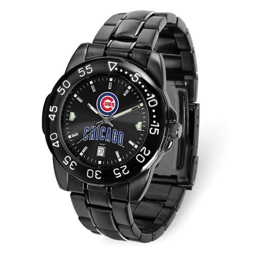 Game Time Chicago Cubs Black Fantom Watch