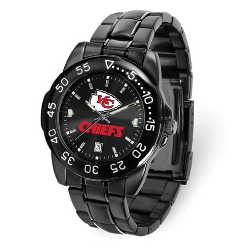 Game Time Kansas City Chiefs Black Fantom Watch