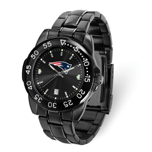 Game Time New England Patriots Black Fantom Watch