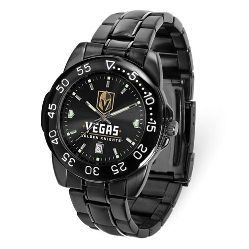 Game Time Vegas Golden Knights Black Fantom Watch