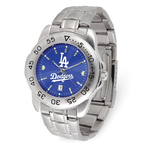 Game Time Los Angeles Dodgers Sport Steel Watch