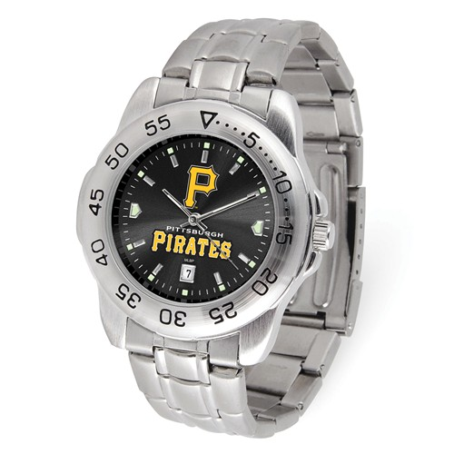 Game Time Pittsburgh Pirates Sport Steel Watch