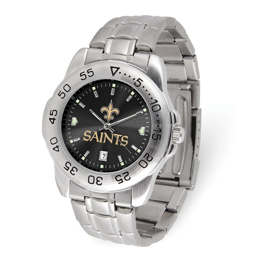 Game Time New Orleans Saints Sport Steel Watch