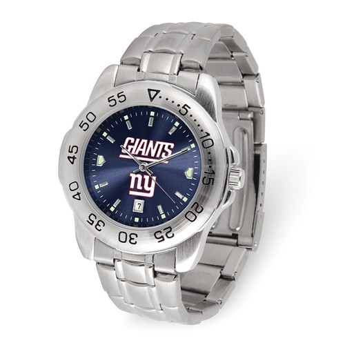 Game Time New York Giants Sport Steel Watch