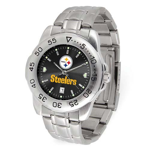 Game Time Pittsburgh Steelers Sport Watch