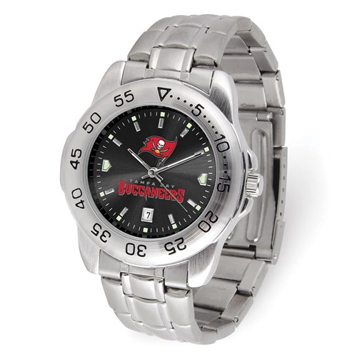 Game Time Tampa Bay Buccaneers Sport Steel Watch