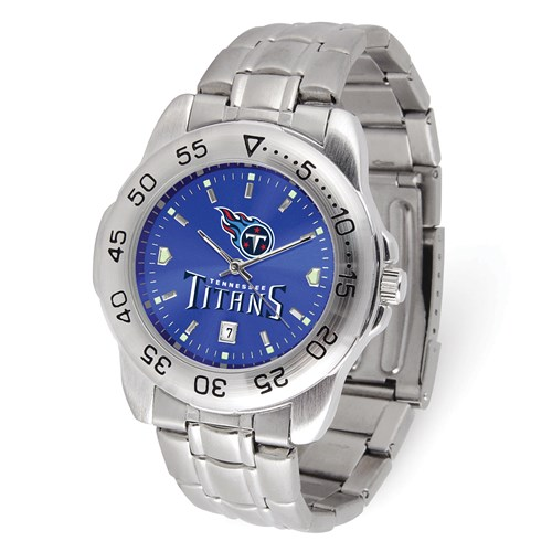 Game Time Tennessee Titans Sport Steel Watch