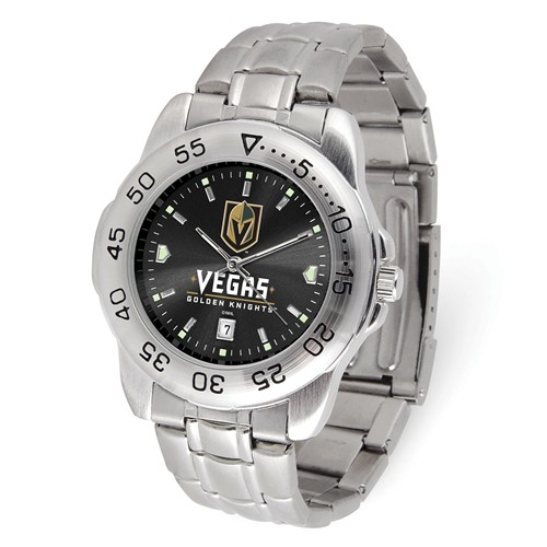 Game Time Vegas Golden Knights Sport Steel Watch