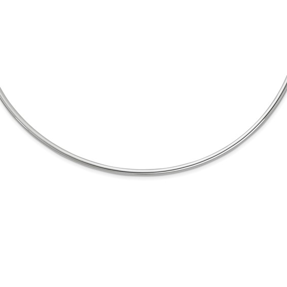 Sterling Silver 14in Neck Collar Necklace