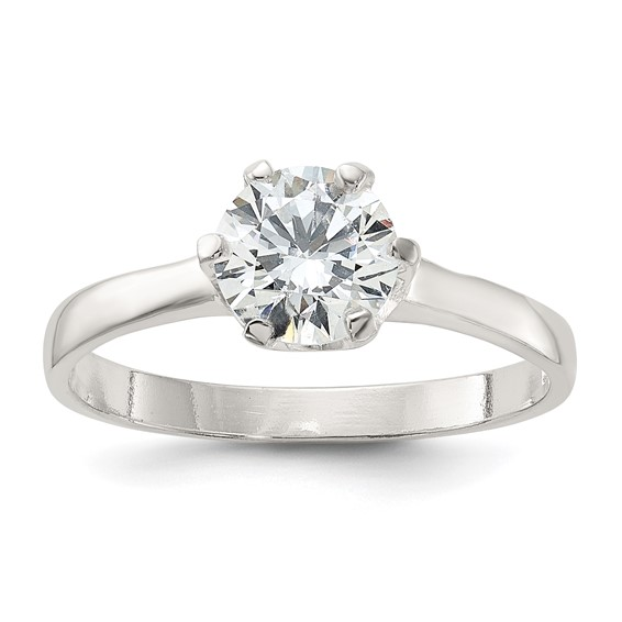 CZ Ring Size 8 - Sterling Silver