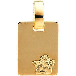 Guardian Angel Charm 12x9mm - 14k Gold