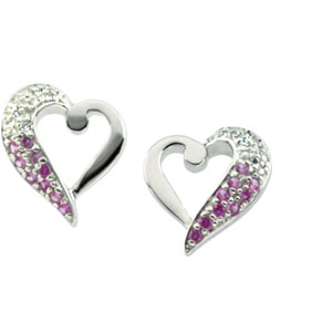 Because™ Earrings - Sterling Silver