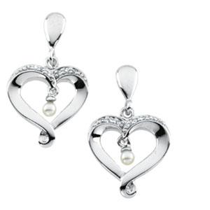Heart and Soul™ Earrings 25.25x14.75mm