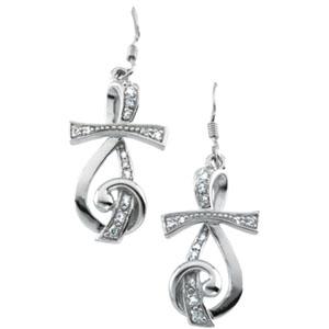Sterling Silver Sing for Joy™  Earrings