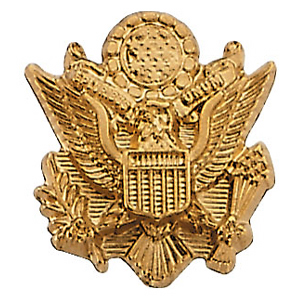 14kt Yellow Gold U.S. Army Lapel Pin