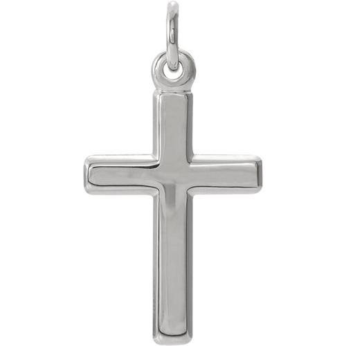Platinum Cross Pendant