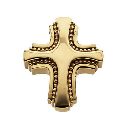 14KY Gold Cross 19.5x17.5mm