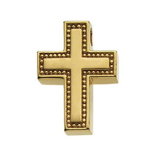Cross 20.5x16mm - 14k Yellow Gold