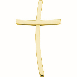 14KY Gold Cross 30.75x18.5mm