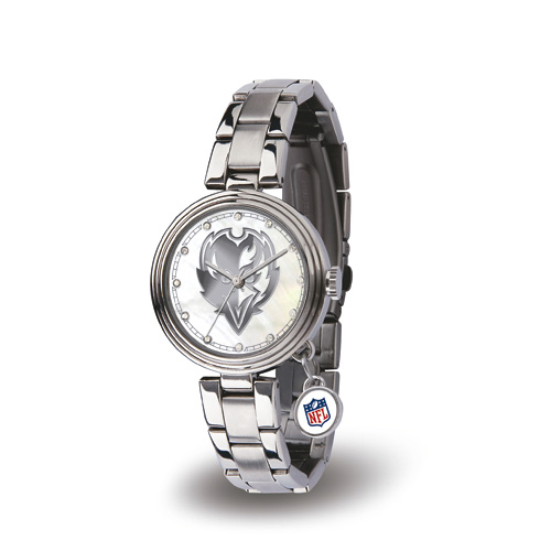 Baltimore Ravens Charm Watch