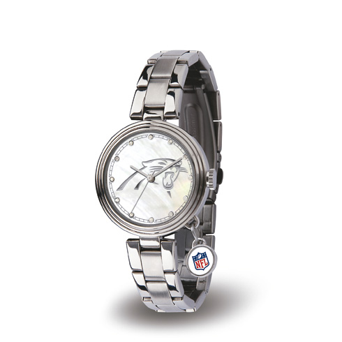 Carolina Panthers Charm Watch