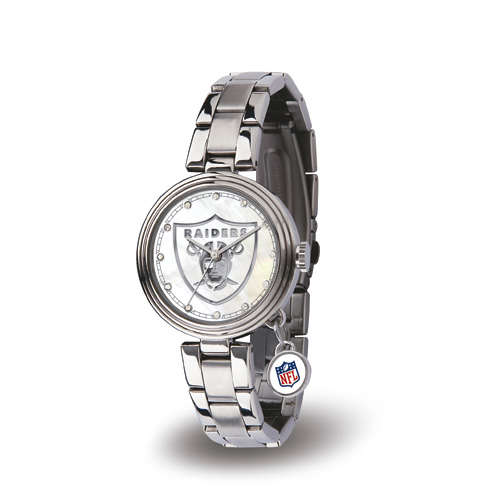 Oakland Raiders Charm Watch