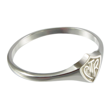 Mini CTR Ring - Sterling Silver