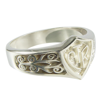 Legacy CTR Ring - Sterling Silver
