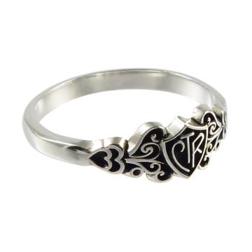 Filigree CTR Ring - Sterling Silver
