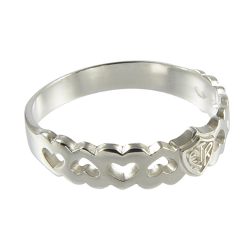 Forget Me Not CTR Ring - Sterling Silver