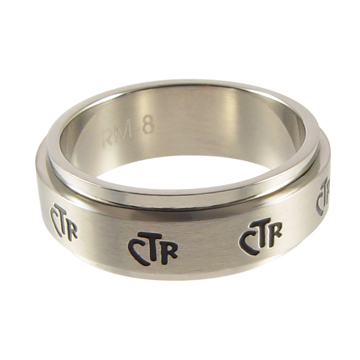 Spinner Narrow CTR Ring 7mm - Stainless Steel