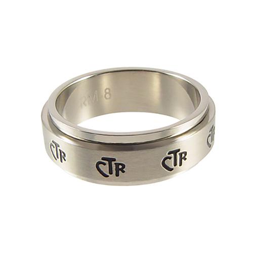 Spinner Narrow CTR Ring 7mm - Stainless Steel