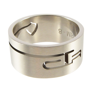 Valiant CTR Ring - Stainless Steel